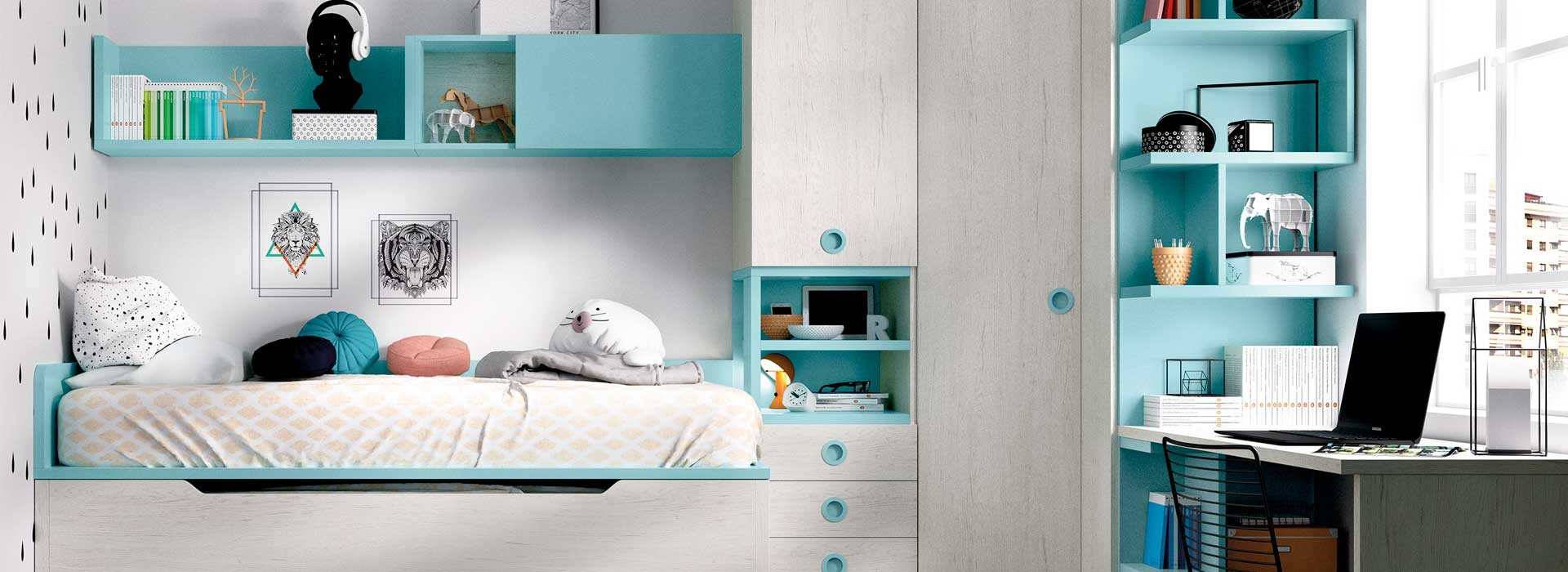 Dormitorios infantiles de gran calidad
