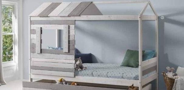 Cómo aprovechar el espacio de un dormitorio infantil.