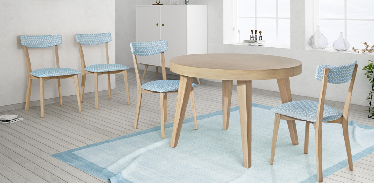 La decisión sobre qué mesas y sillas escoger para nuestro hogar.